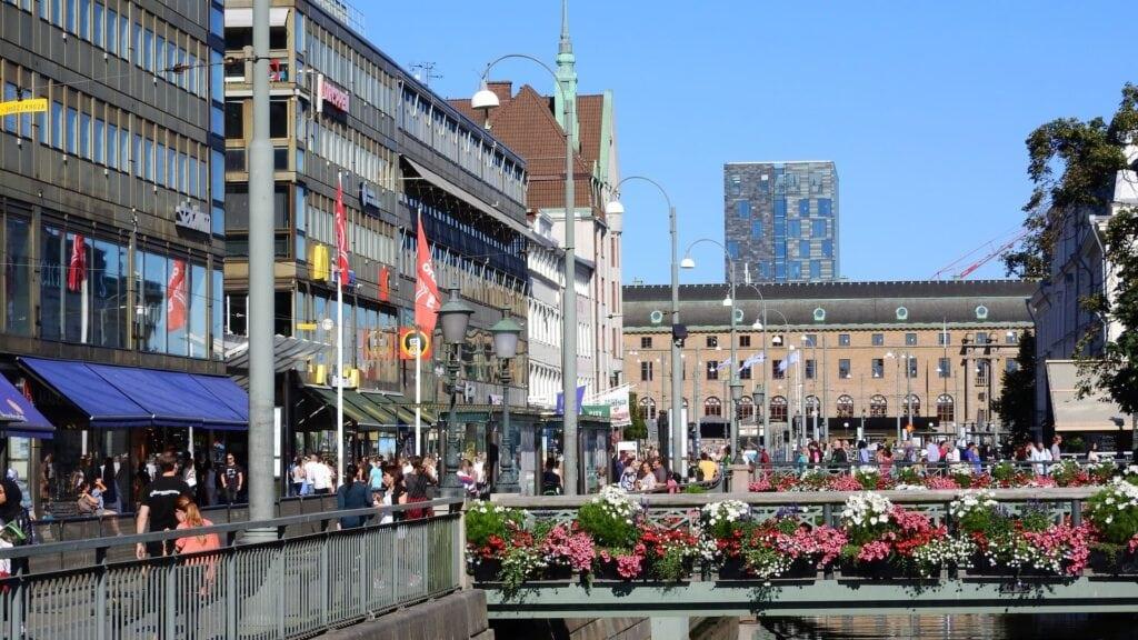 Göteborg studietur alfa travel byliv gade sommer