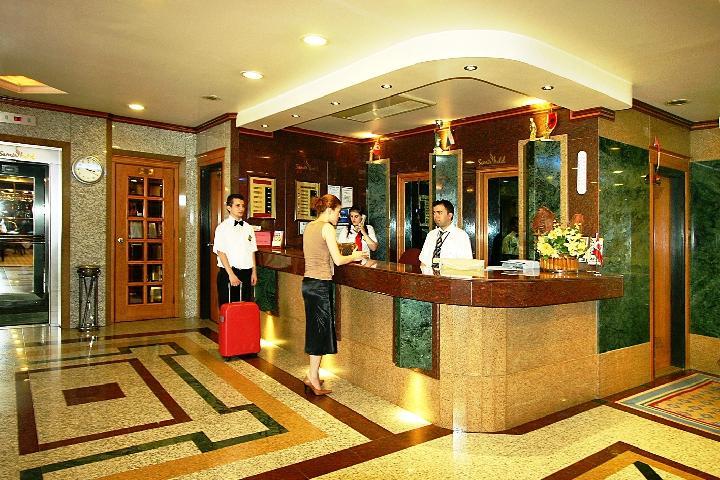Hotel Samir - Istanbul - studietur - AlfA Travel - Reception