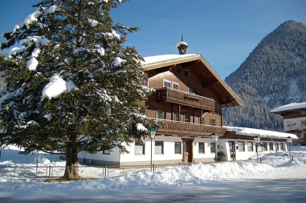 Gasthof steigerhof neukirchen facade skitur alfa travel