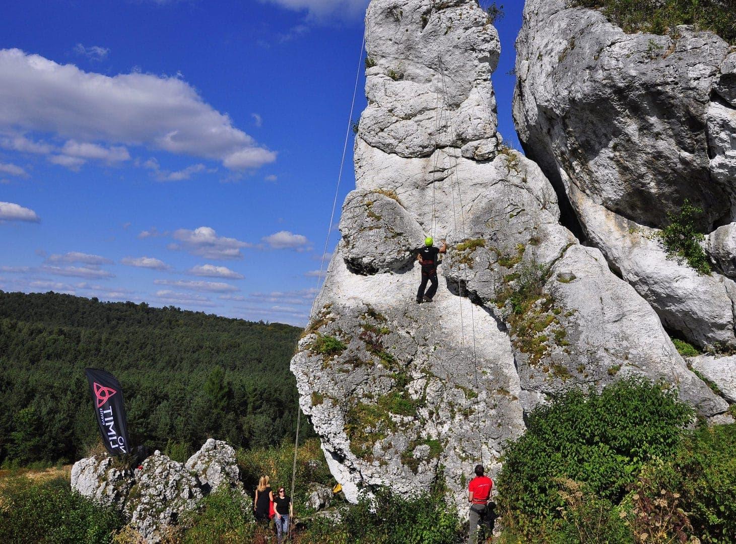 Krakow aktivrejse studietur alfa travel klatring