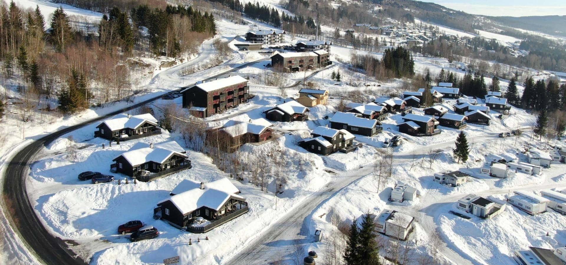 Nordlia hytter - Hafjell - skirejse - AlfA Travel - område