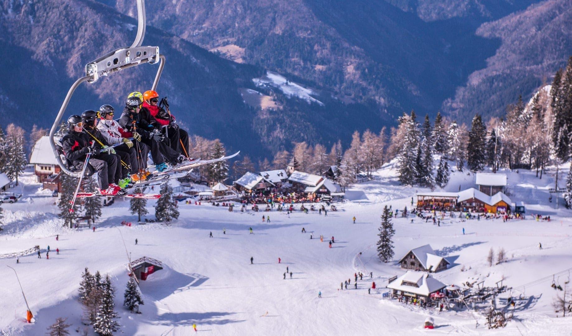 Studietur skitur alfa travel krvavec