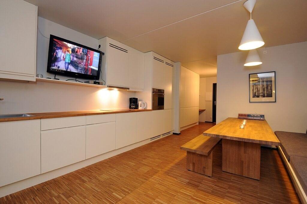 Studio H - Kvitfjell - skirejse - grupperejse - AlfA Travel - køkken - lejlighed
