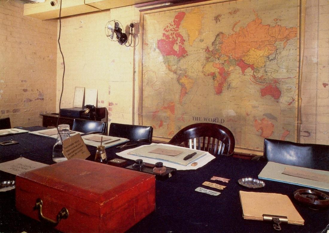 Studietur Churchill War Rooms