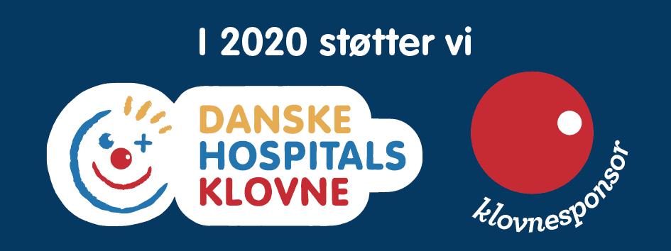 Klovnesponsor-danske hospitalsklovne 2020