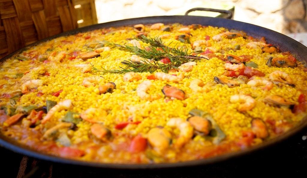 Studietur Spanien Paella