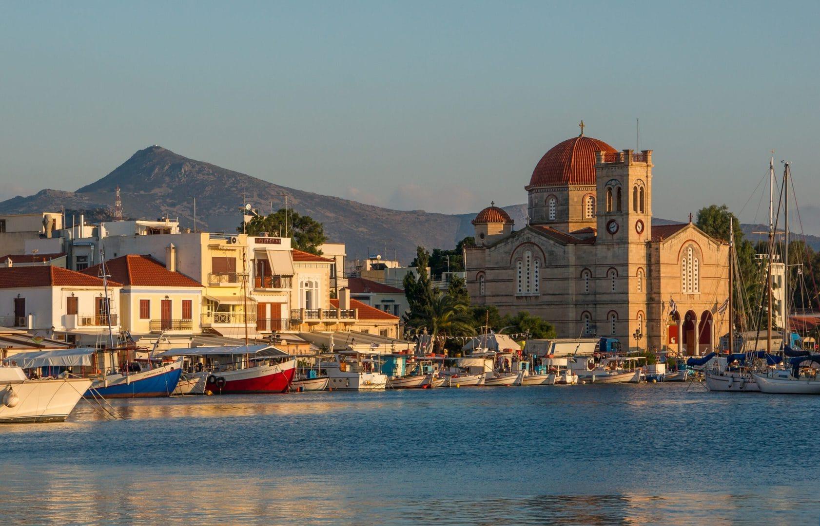 Studietur Athen Aegina