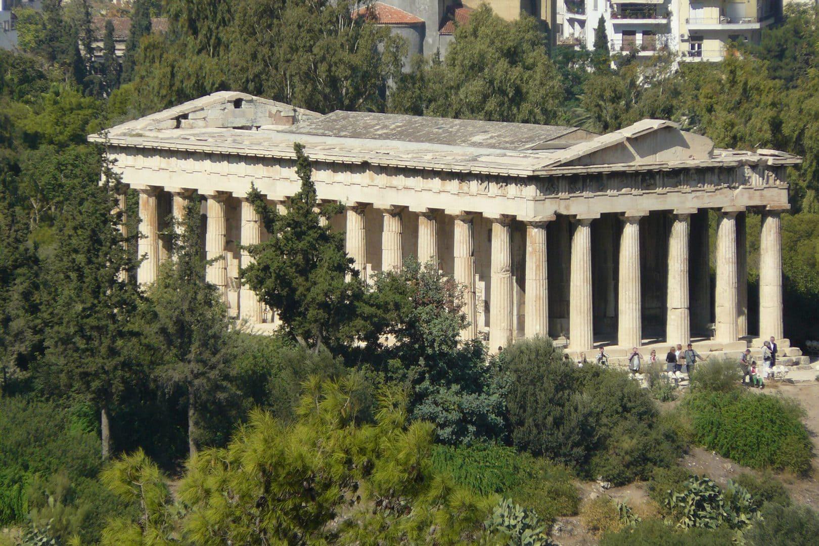 Studietur Athen Ancient Agora