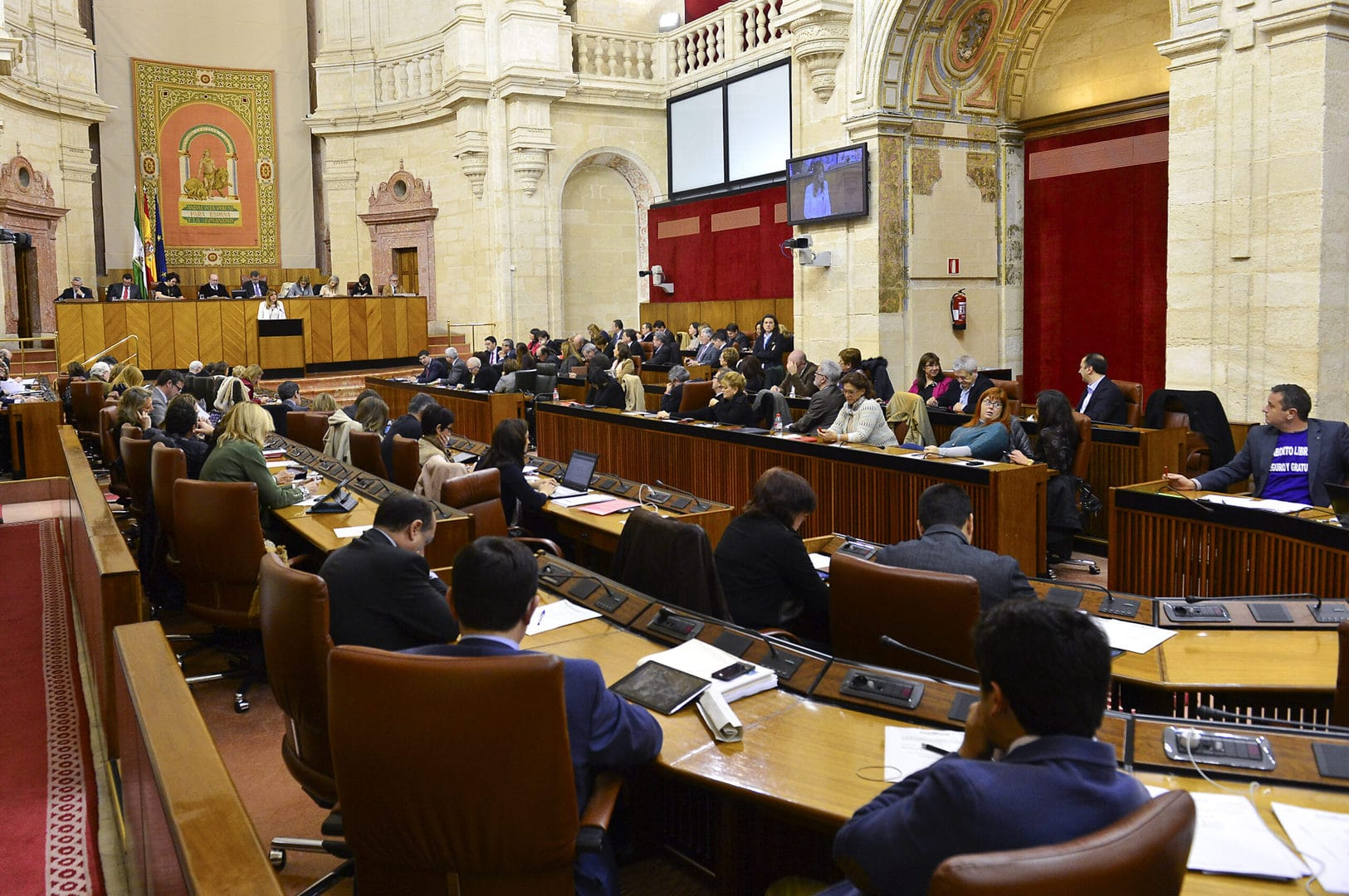 Studietur Sevilla parlament