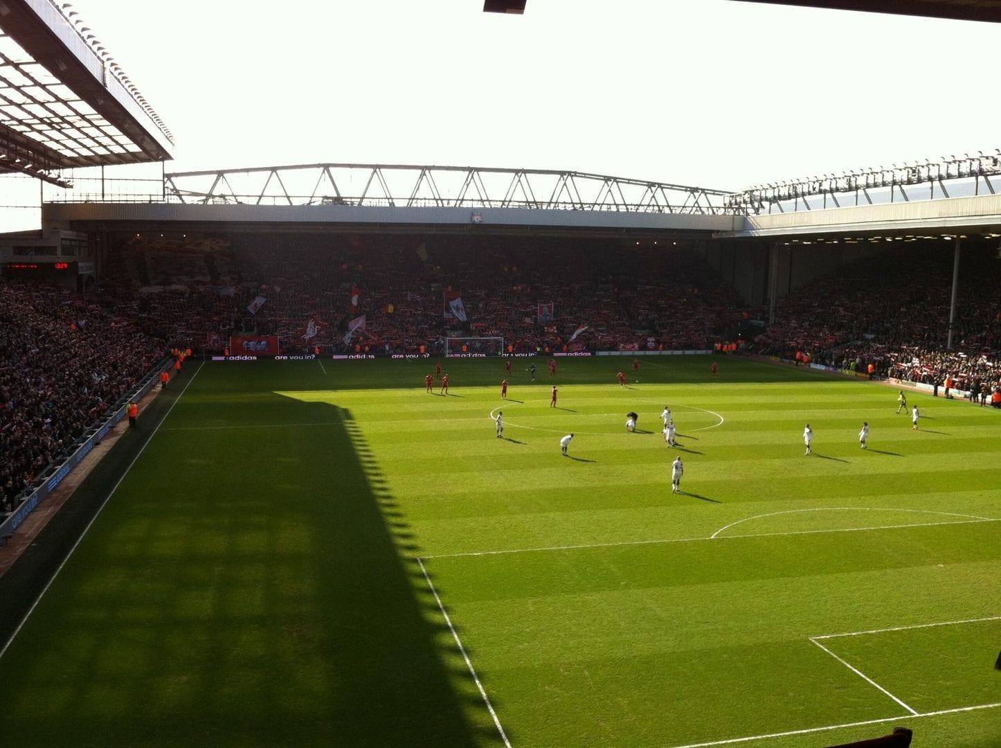 Studietur Liverpool Anfield Road