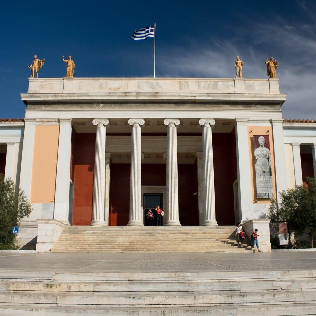 Studietur Athen Arkaeologisk museum