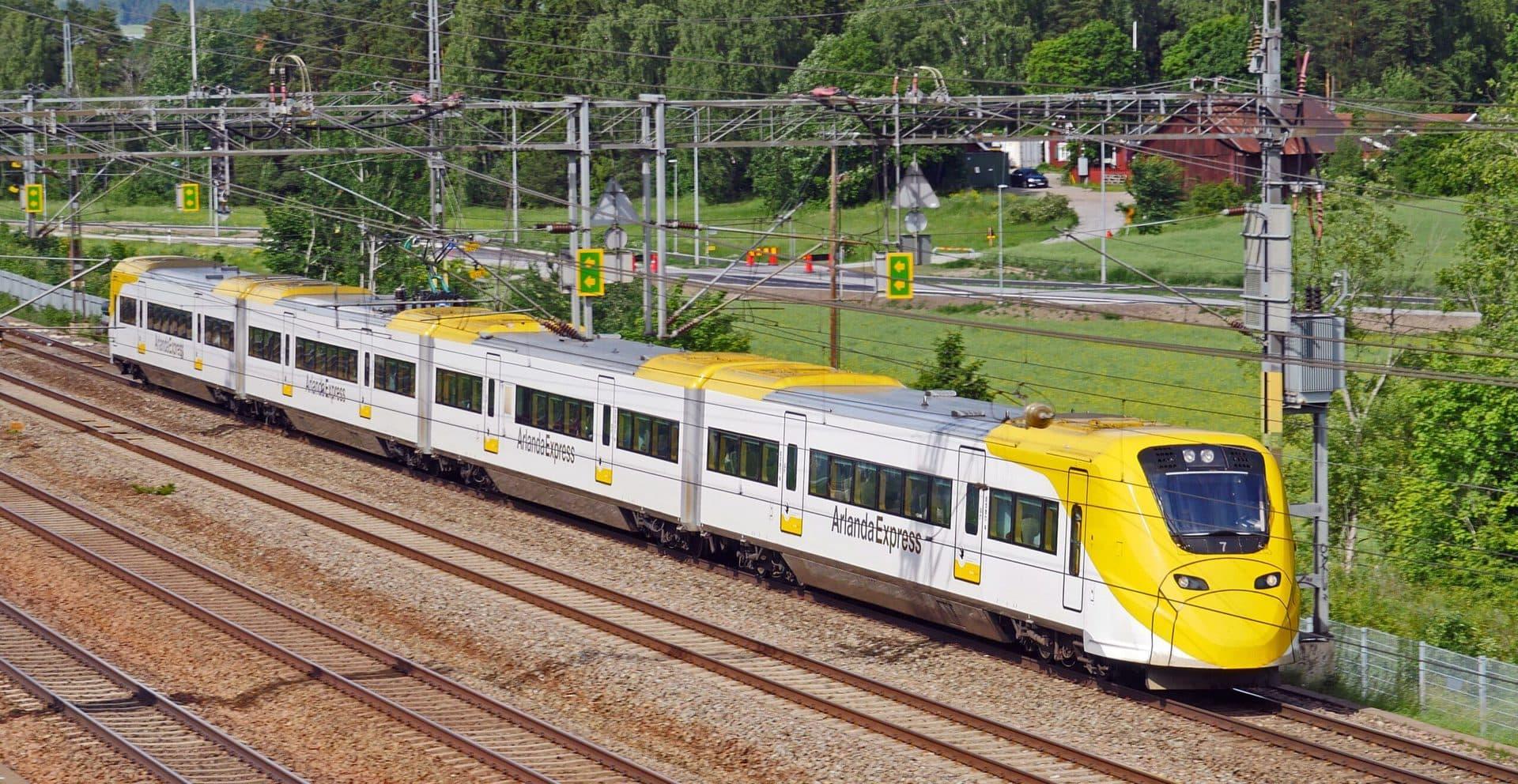 Studietur Stockholm Arlanda Express
