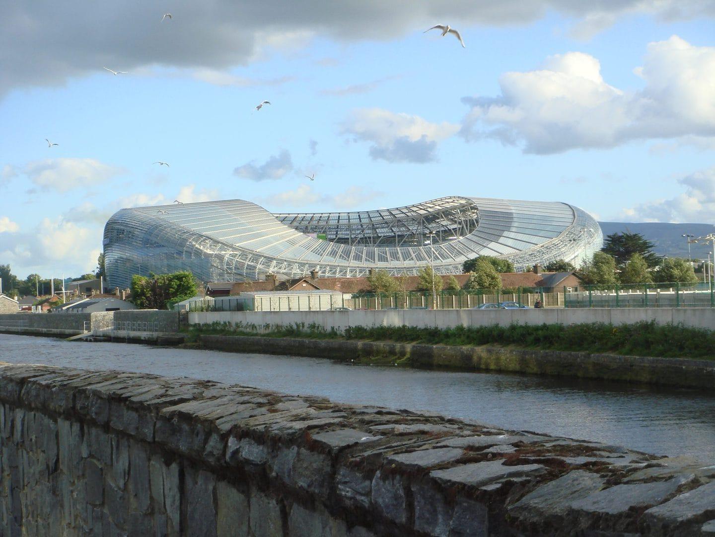 Studietur Dublin Aviva Stadium