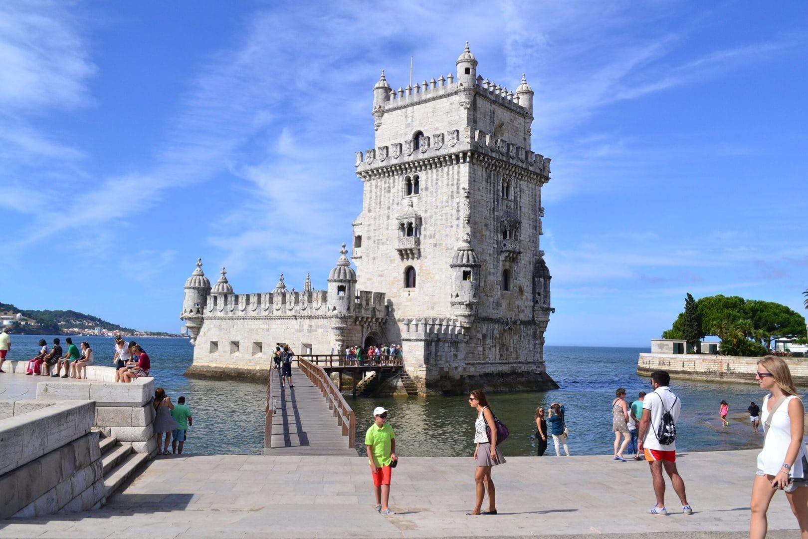 Studietur Lissabon torre de Belem