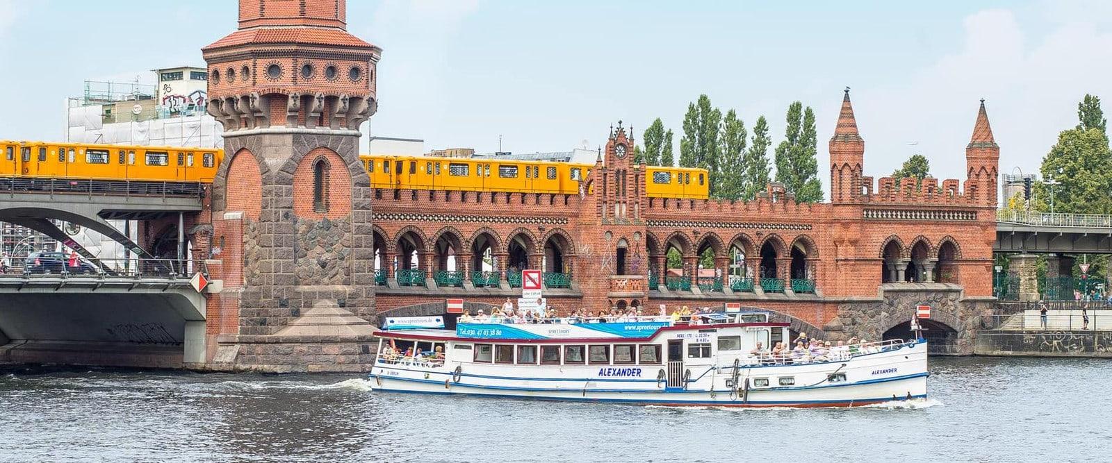 Studietur Berlin Spree sejltur
