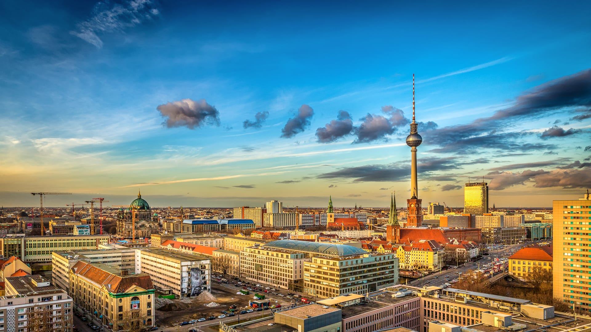 Studietur Berlin Fernsehturm