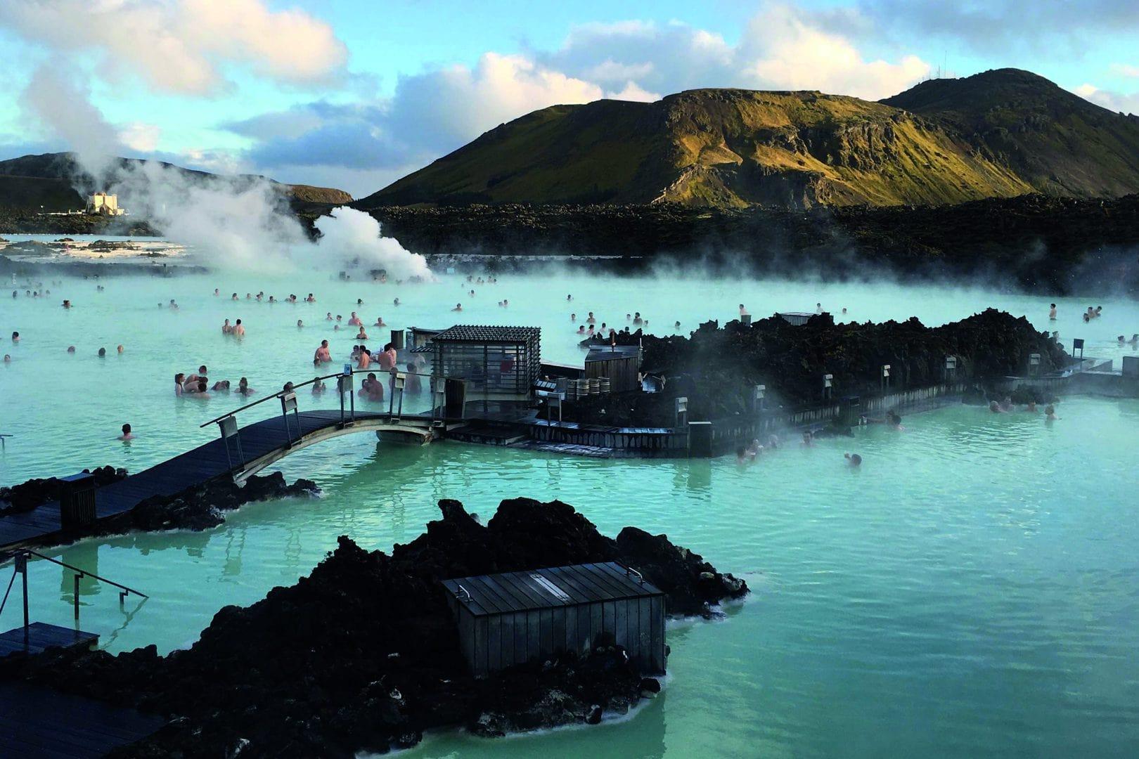 Studietur Reykjavik Island Den Blå Lagune