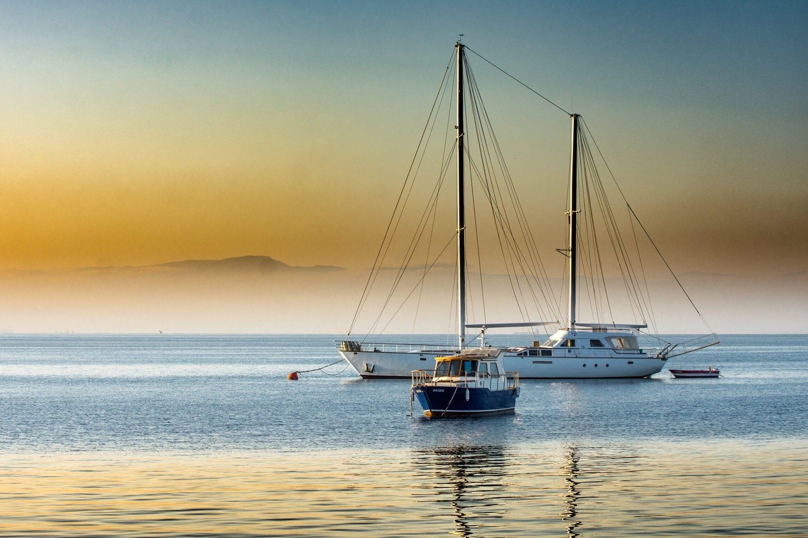 Studietur Barcelona sejlbåd