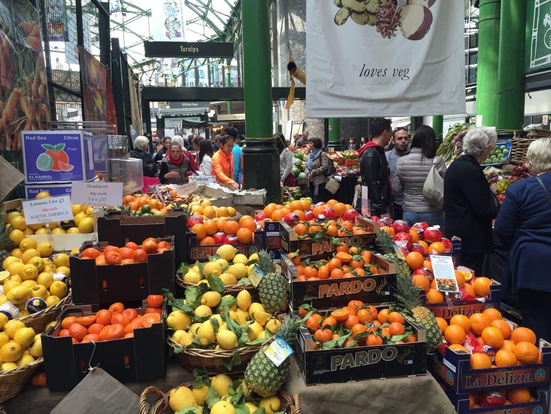 Studietur London Borough Market