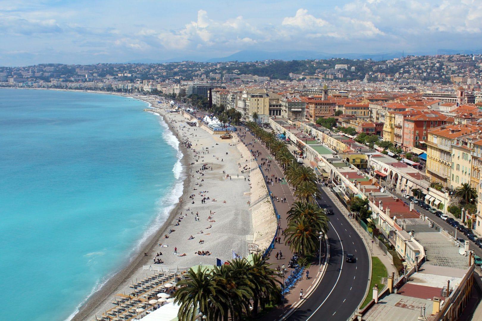 Studietur Nice BoulevarddesAnglais