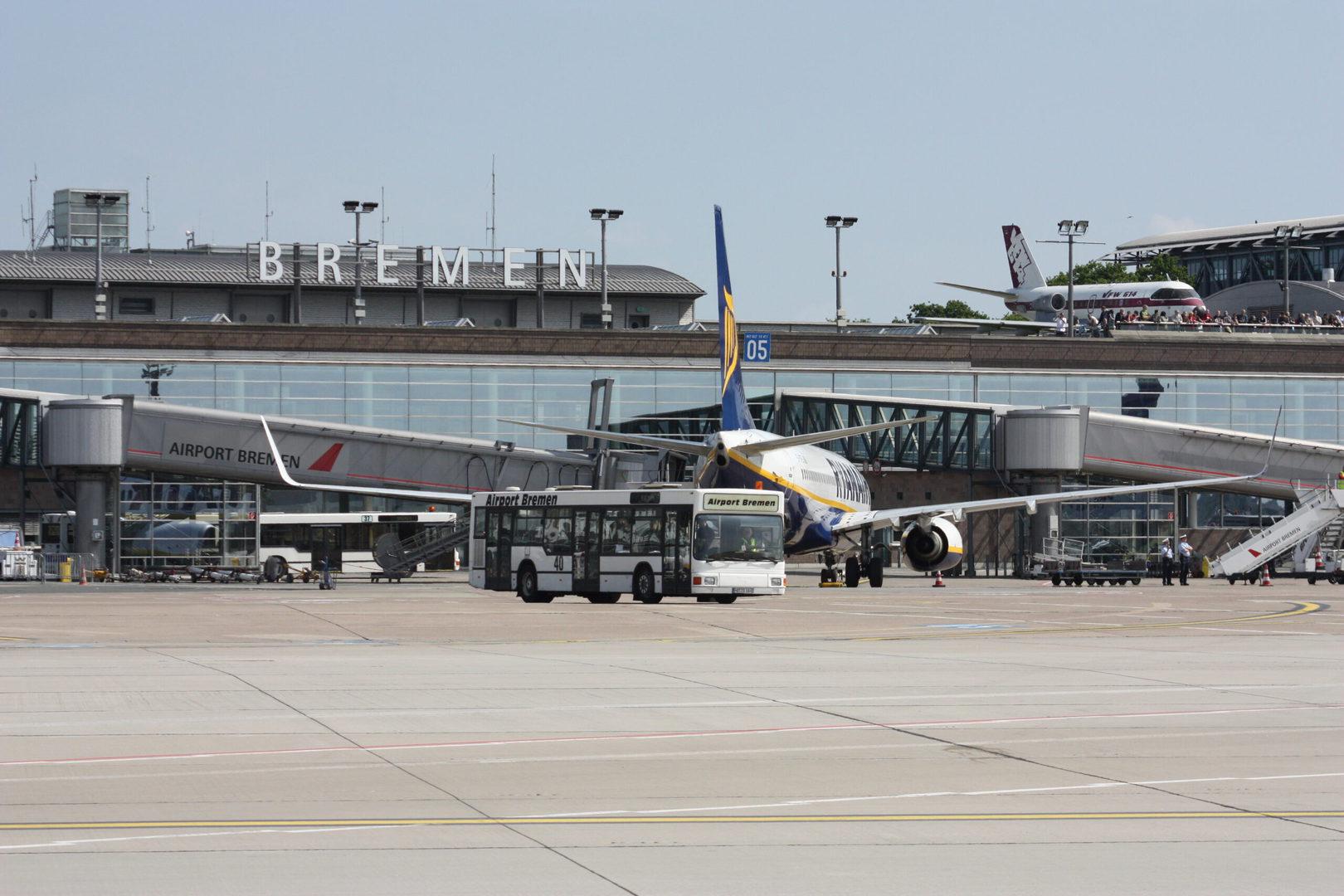 Studietur Bremen lufthavn