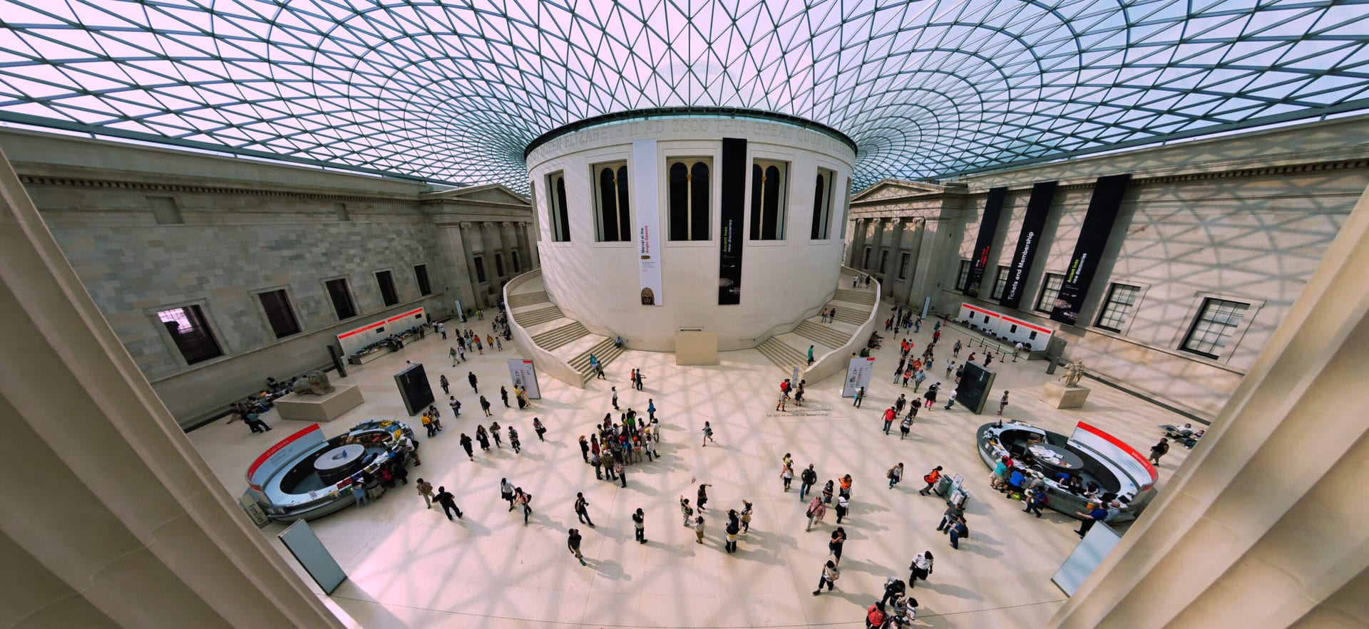 Studietur London British Museum pano