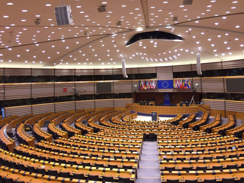 Studietur Bruxelles EU Parlamentet