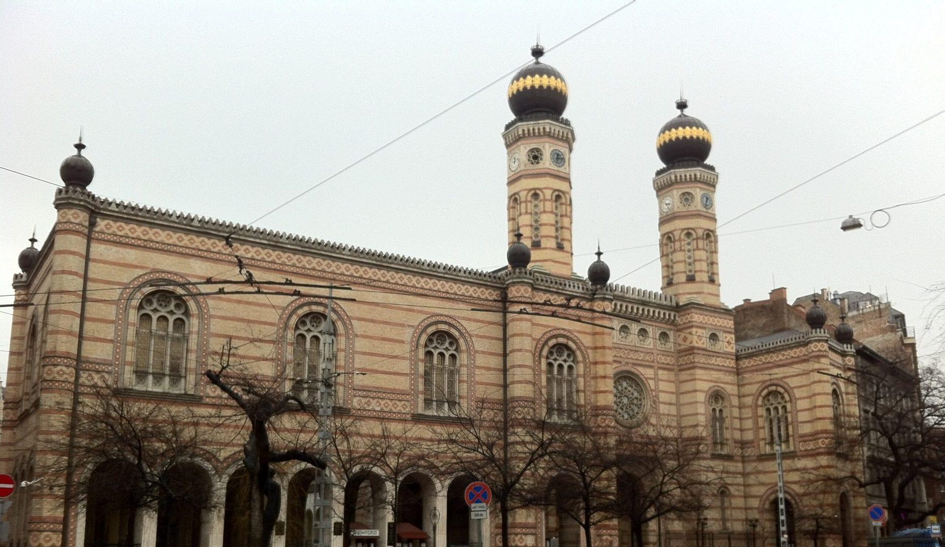 Studietur Budapest Synagoge