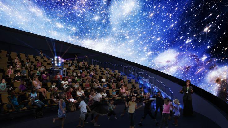 Studietur Lissabon Planetarium