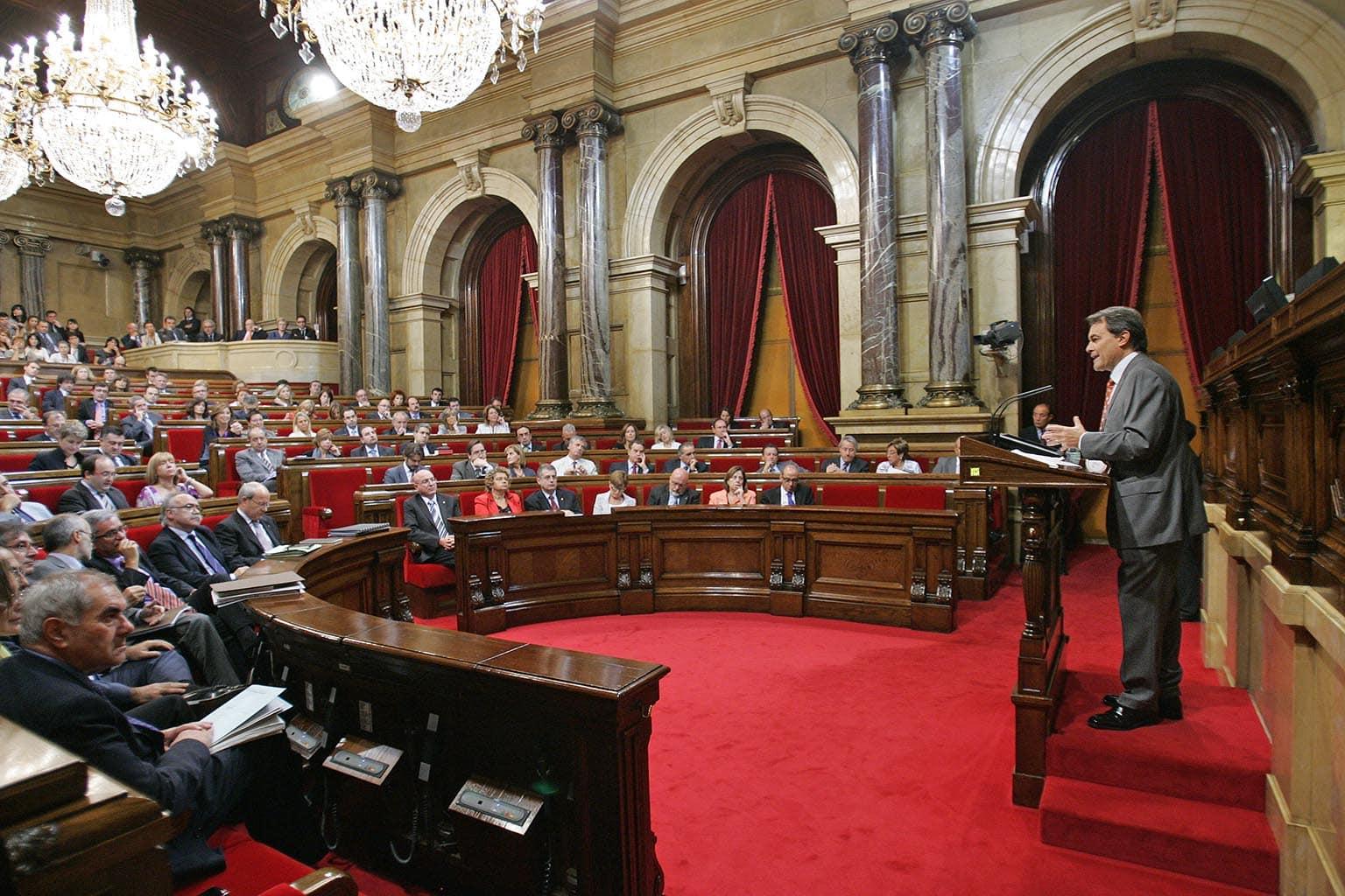 Studietur Barcelona Catalonia Parliament