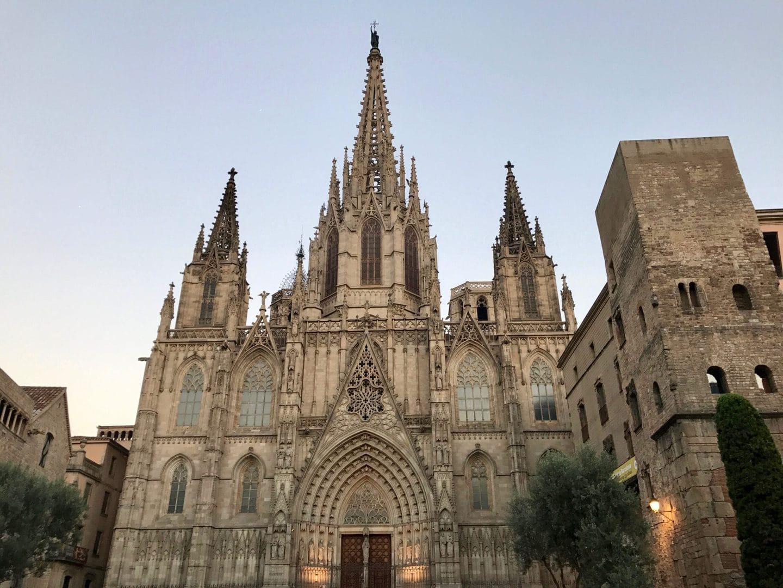 Studietur Barcelona Catedral Barcelona