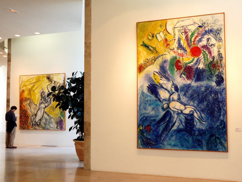 Studietur Nice Chagall