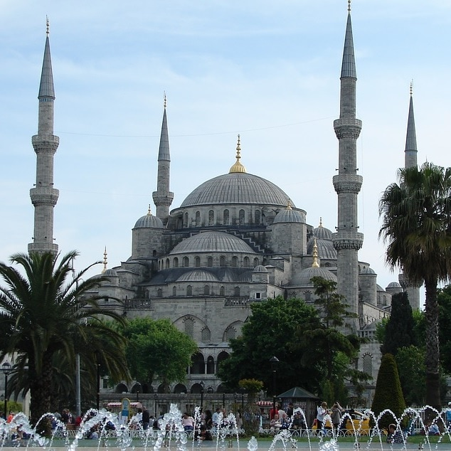 Istanbul_Den blå moske