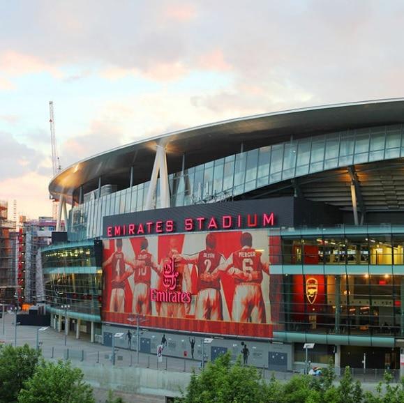 Studietur London Emirates Stadium