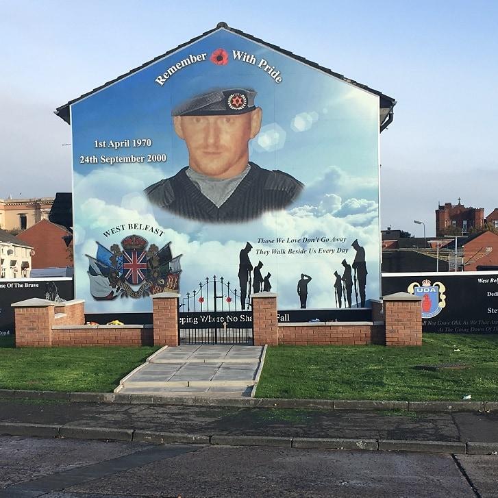 Studietur Belfast Fall Road Murals