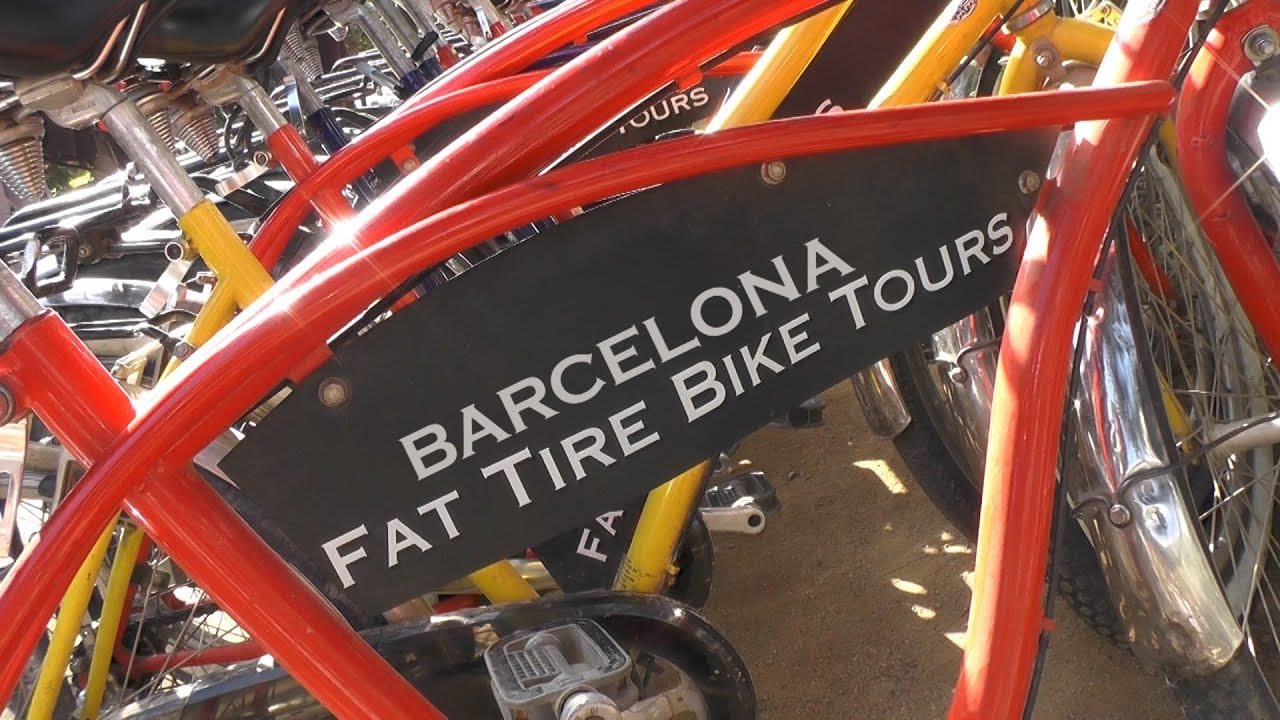 Studietur Barcelona Fat Tire Bike Tours