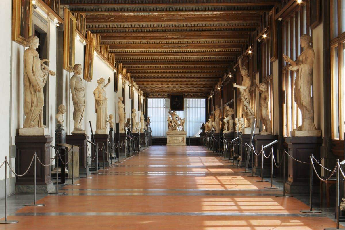 Studietur Firenze Galleria Degli Uffizi
