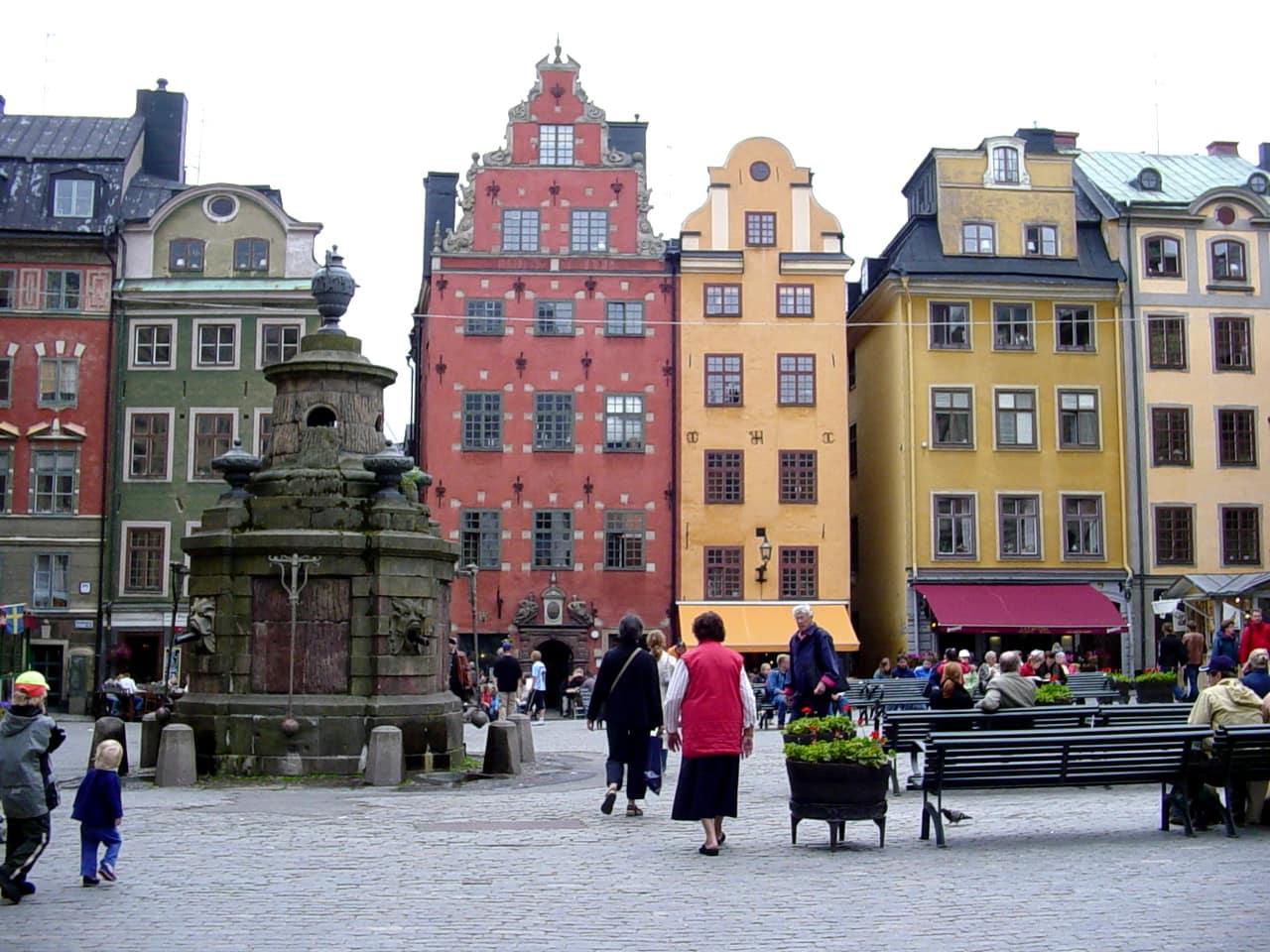 Studietur Stockholm Gamla Stan