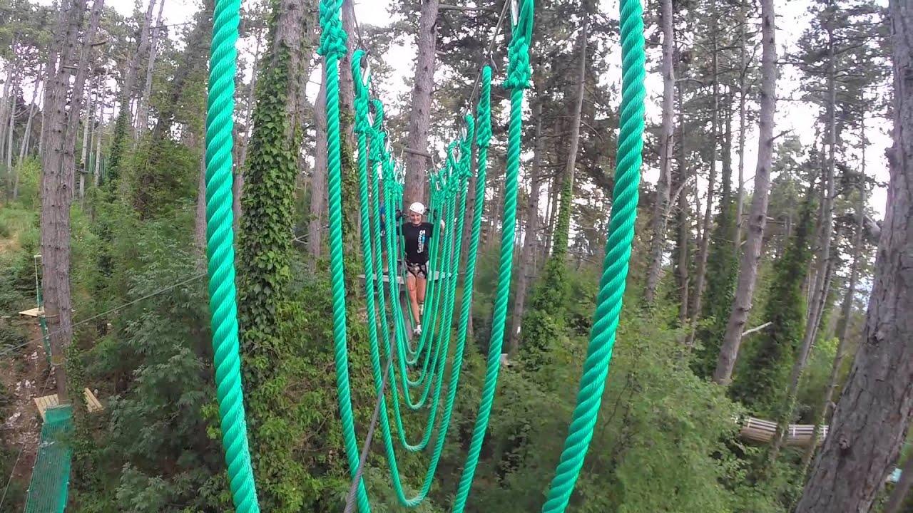 Studietur Gardasøen Jungle Adventure Park