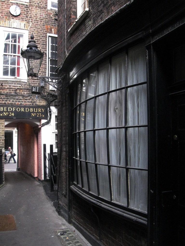 Studietur London Goodwins Court Harry Potter