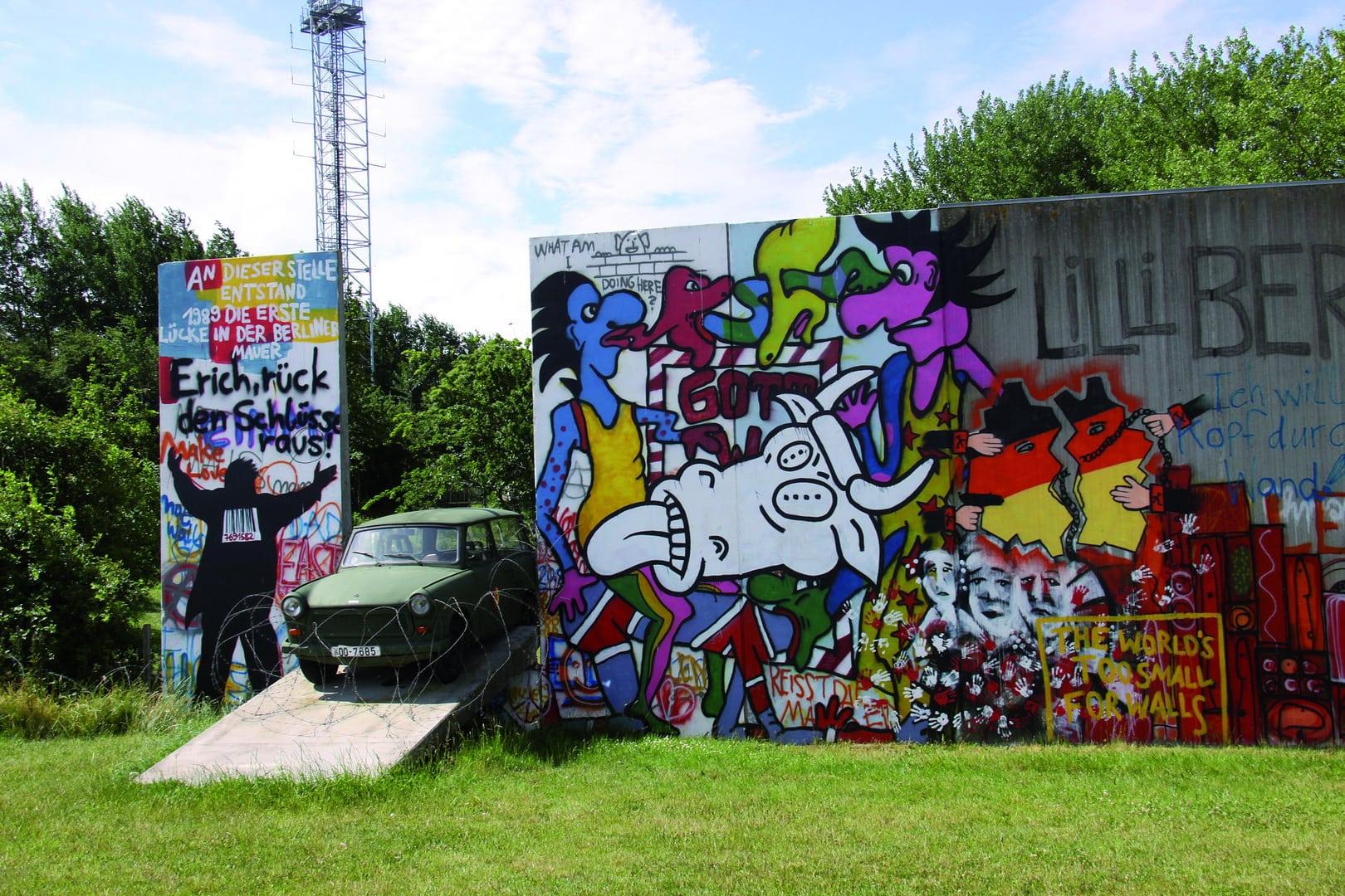 Studietur Berlin graffiti