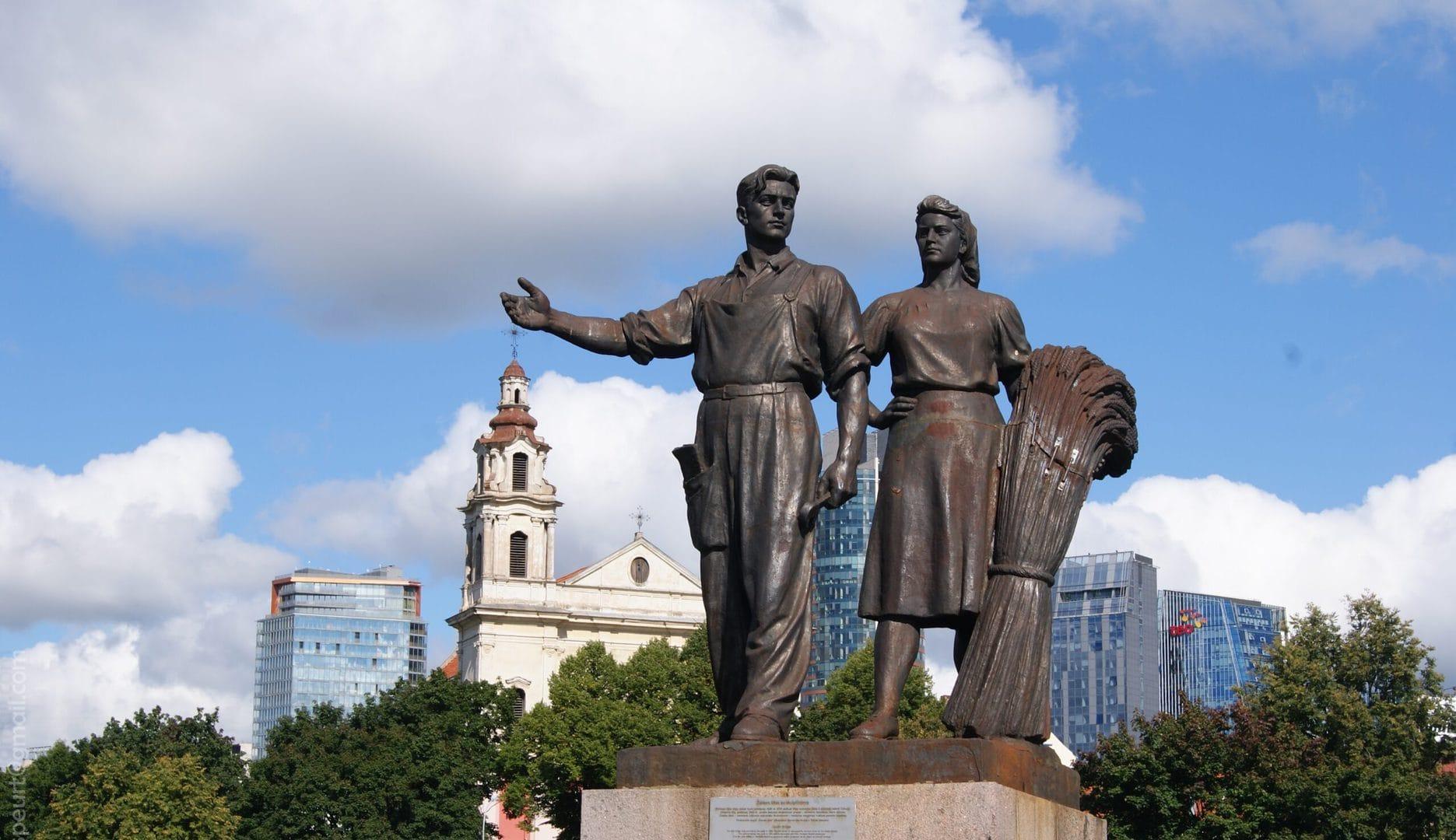 Studietur Vilnius Sovjet tur