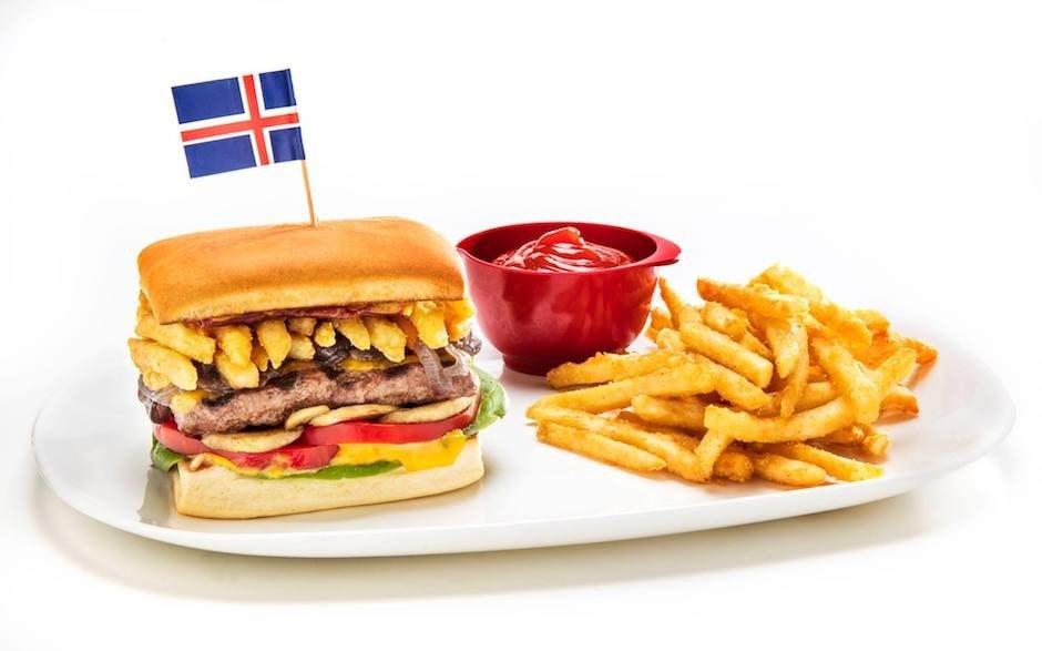 Studietur Reykjavik Island Hamburgerfactory