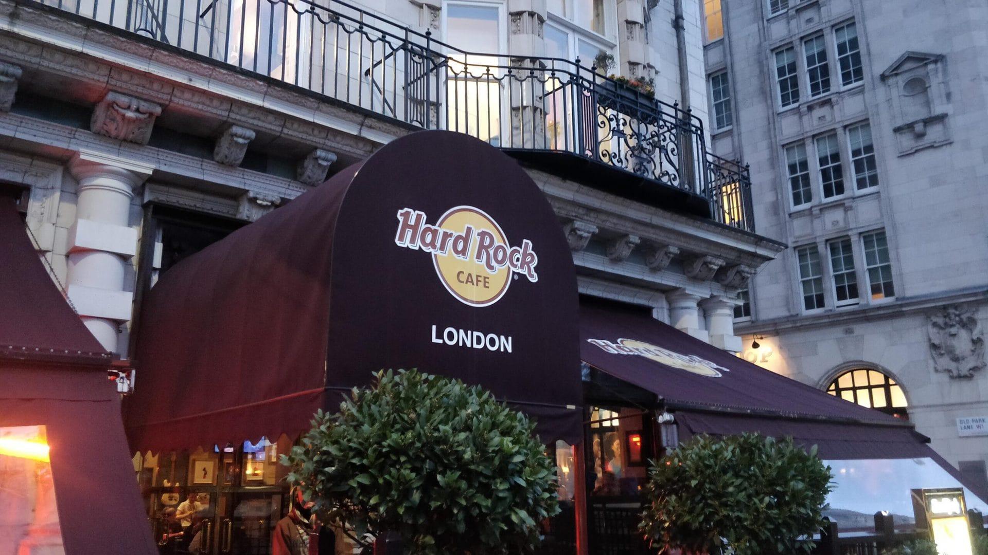 Studietur London Hard Rock Cafe