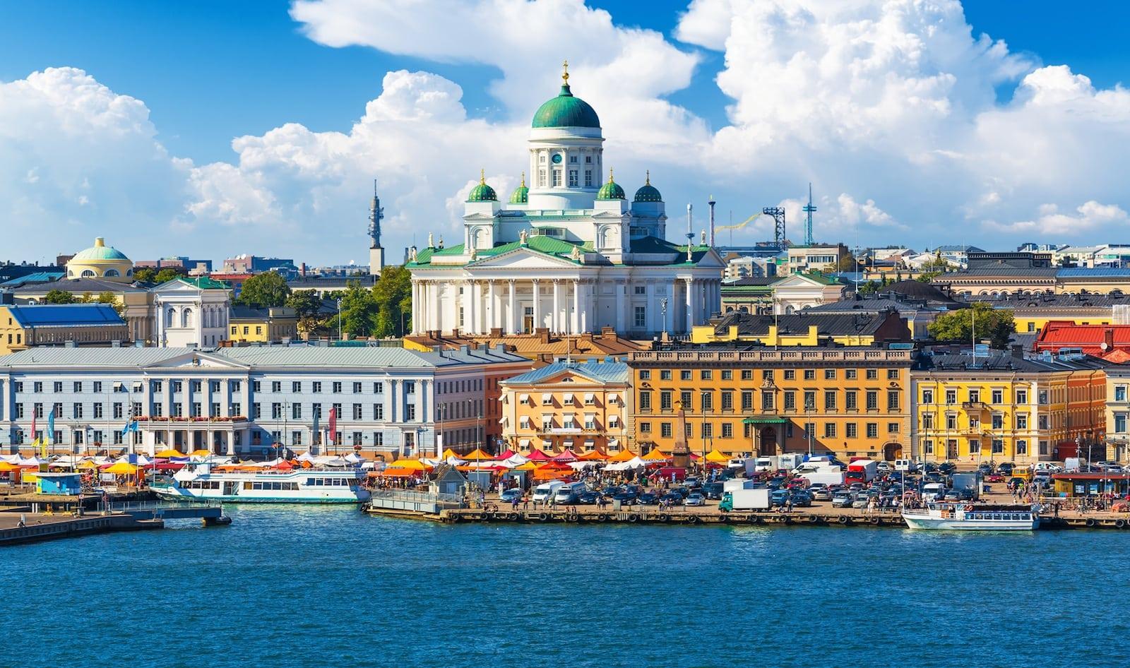 Helsinki_Billede over byen