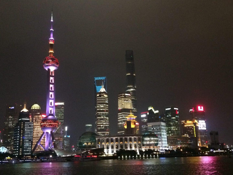 Studietur Shanghai Oriental Pearl