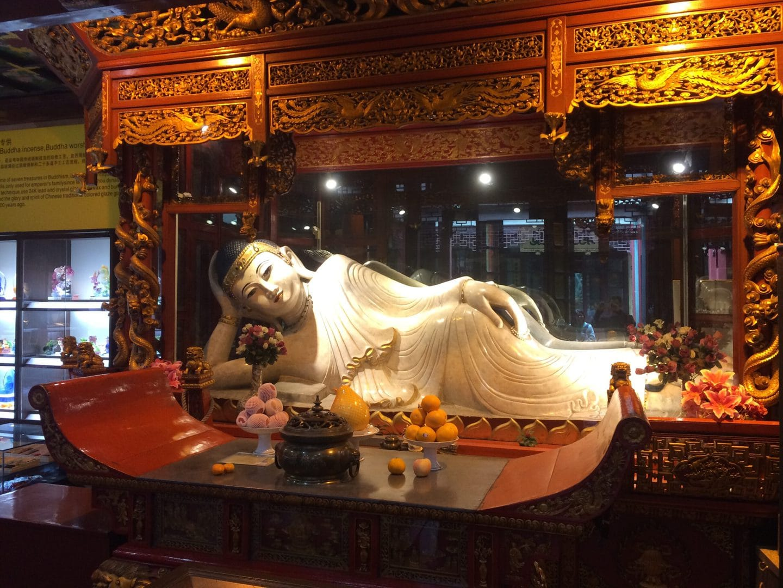 Studietur Shanghai Jade Buddha Temple