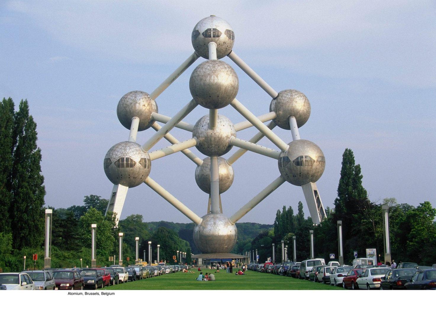 Studietur Bruxelles Atomiumc