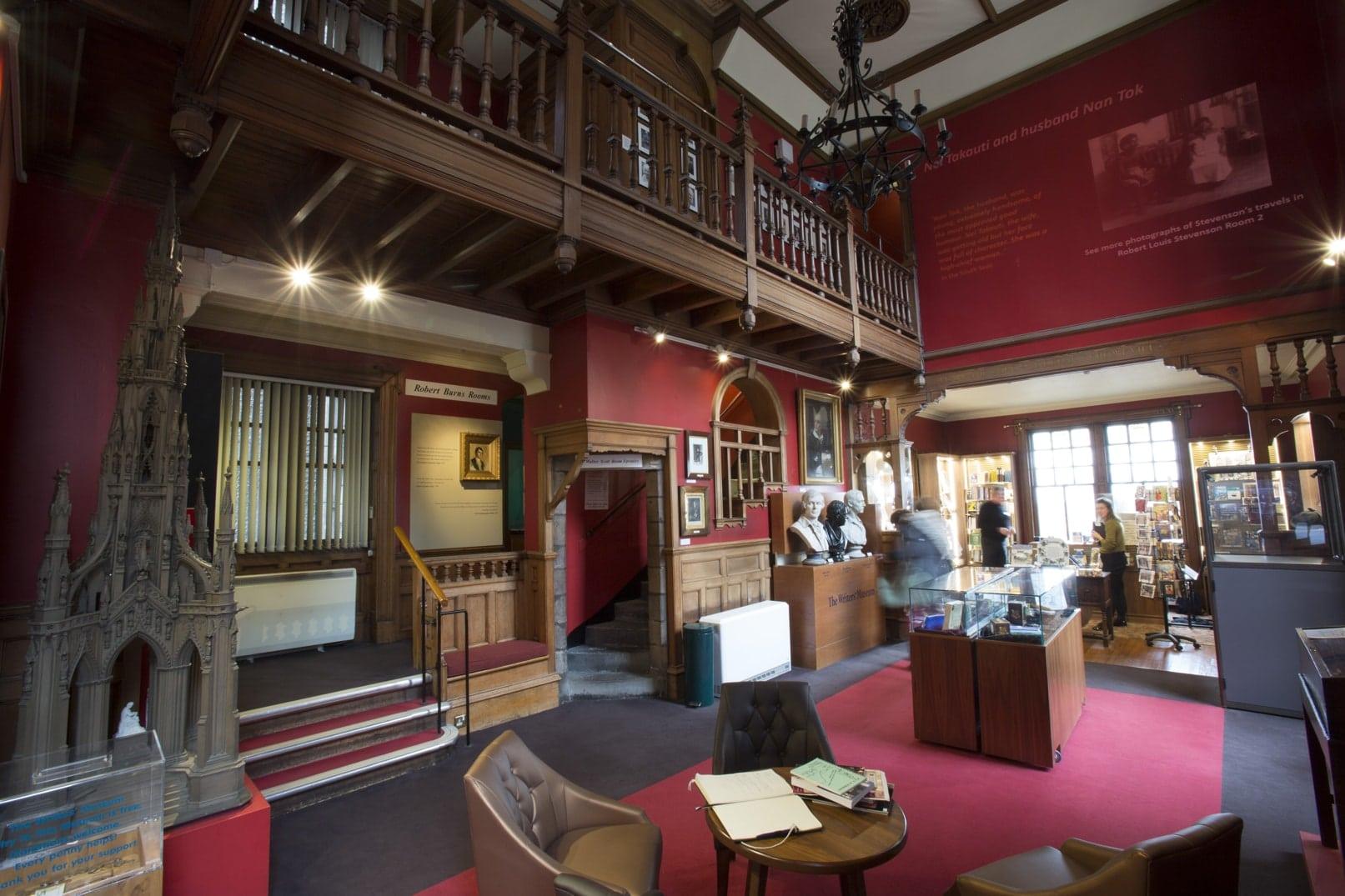 Studietur Edinburgh Writers Museum