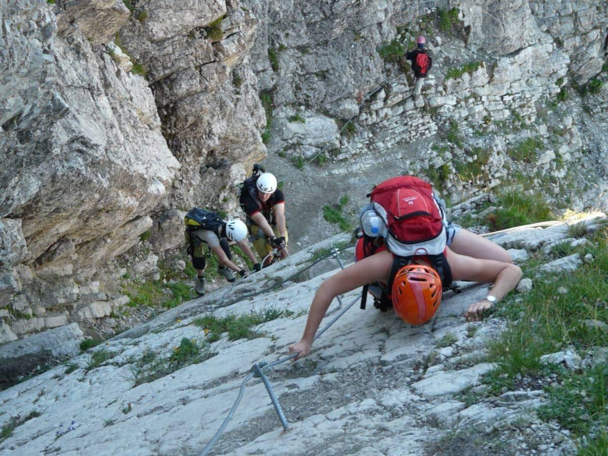 Studietur Toscana klatring